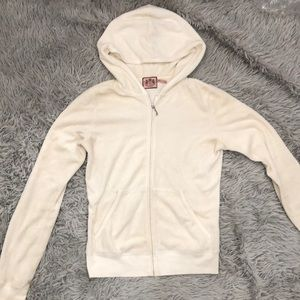 Juicy Couture White Terry Cloth Original Jacket